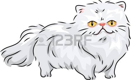771 Persian Cat Cliparts, Stock Vector And Royalty Free Persian.