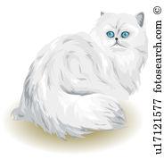 Persian cat Stock Illustrations. 63 persian cat clip art images.