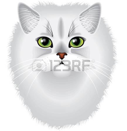 727 Persian Cat Cliparts, Stock Vector And Royalty Free Persian.