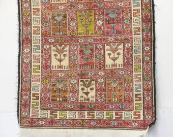 Vintage persian rug.