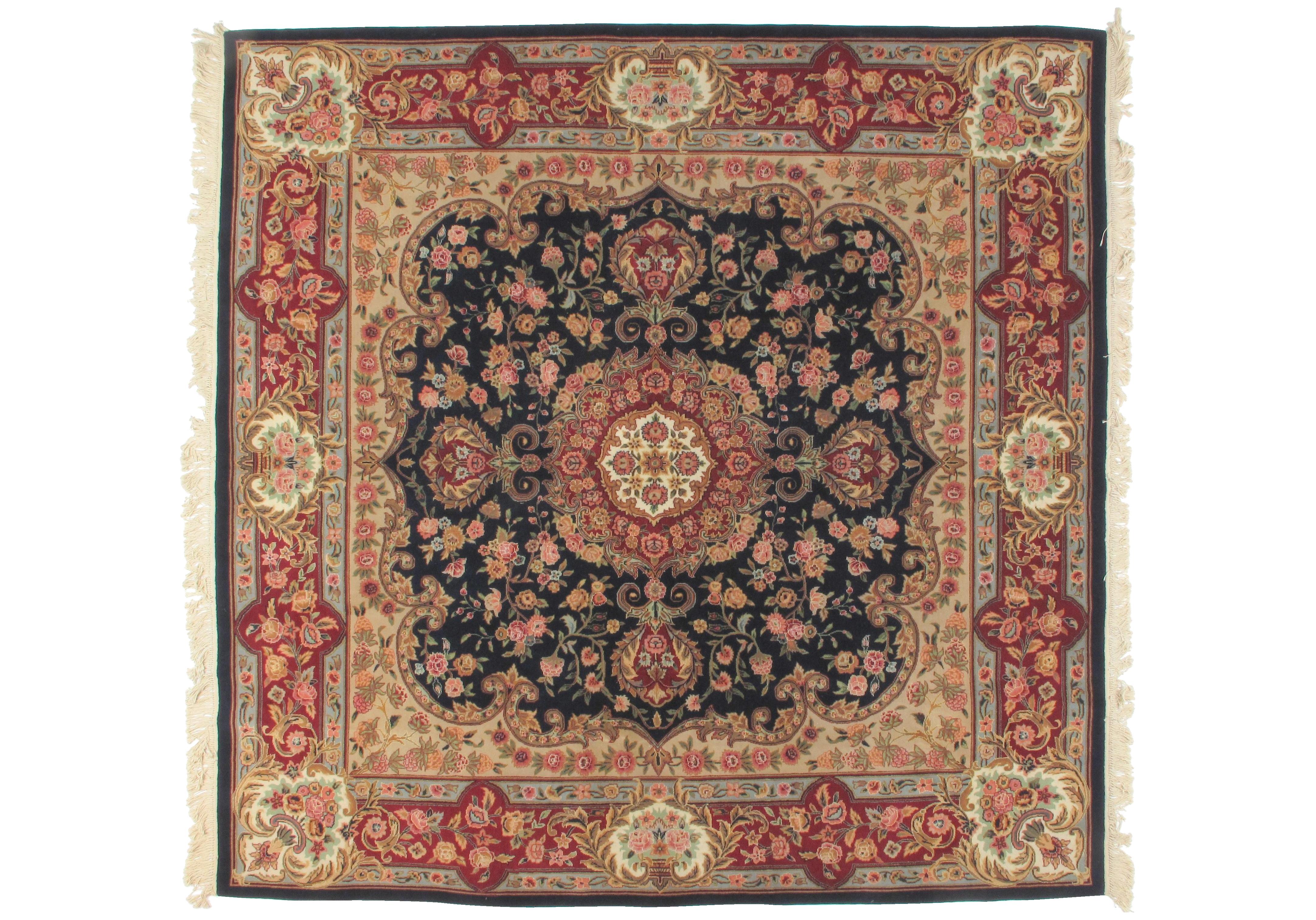 Square Sino Persian Carpet.