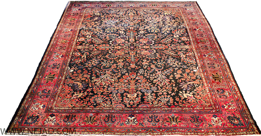 About Persian Sarouk Antique Oriental Rugs.