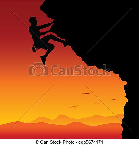 Vector Clip Art of To the Top.