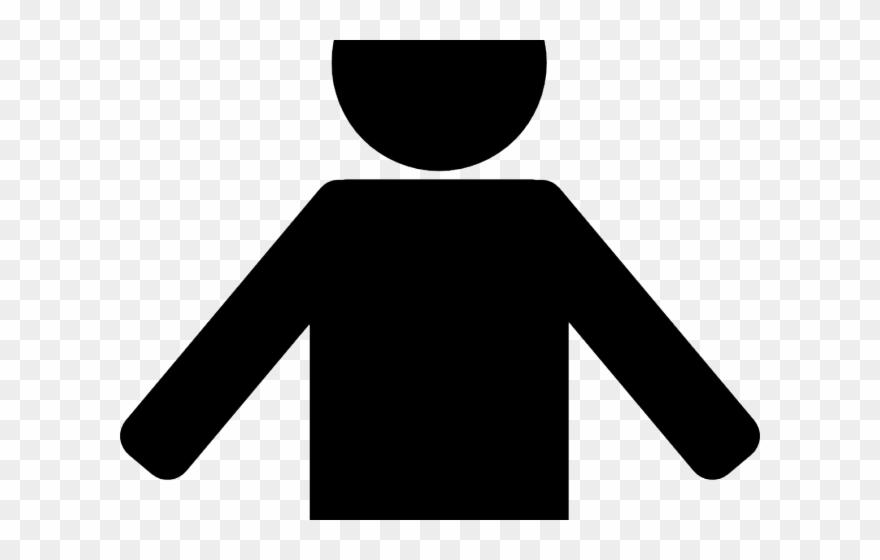 Single Clipart Individual Person.