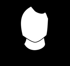 Person Clipart Black And White.