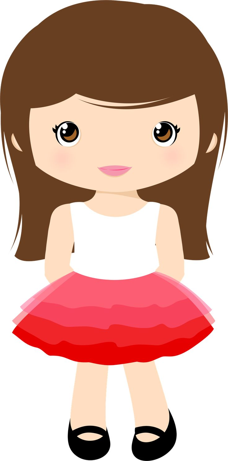 Girl Person Clipart.