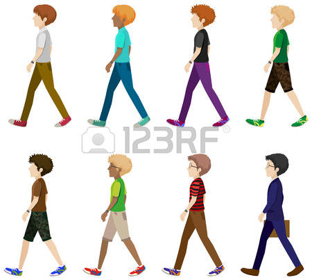 person clipart side view #16