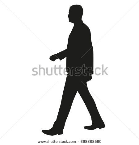 Walking Stock Images, Royalty.