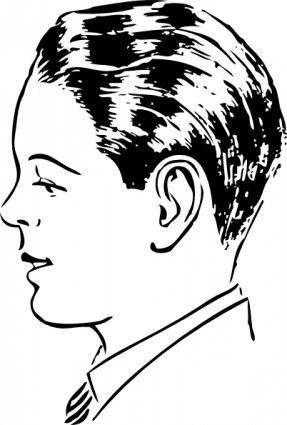 Person Clipart Side View