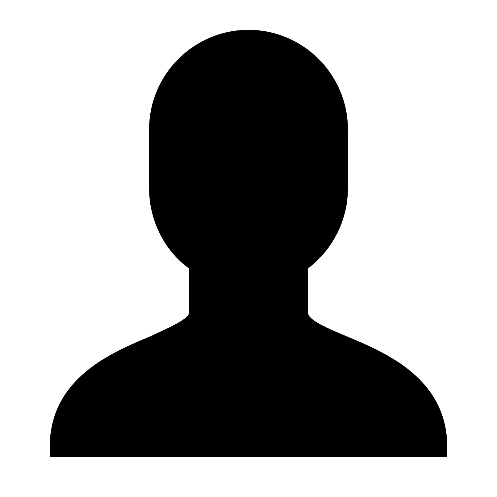 person clipart silhouette gender neutral clipground