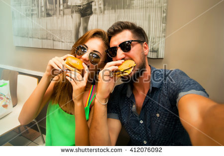 Eat Stock Images, Royalty.