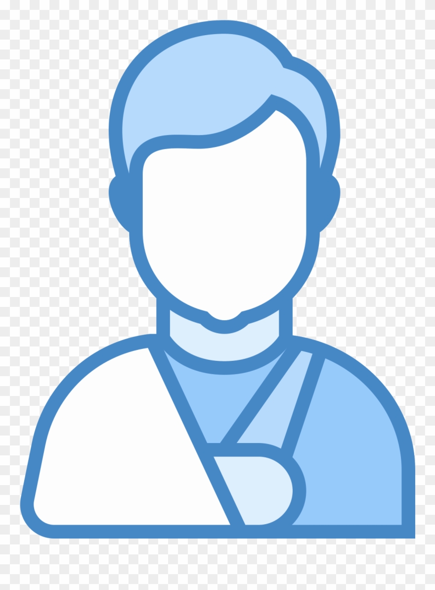 A Graphic Of The Top Half Of A Person.