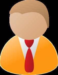 Teamstijl Person Icon Orange Clip Art at Clker.com.