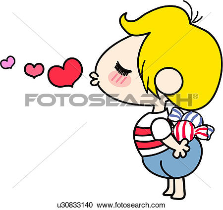 Clipart of one person, love, person, people, heart, valentineday.