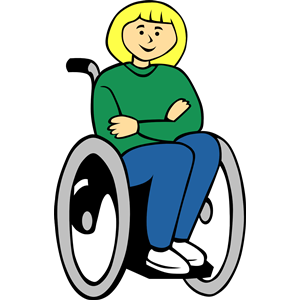 Collection of Wheelchair clipart.