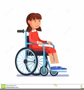 Person In Wheelchair Free Clipart.