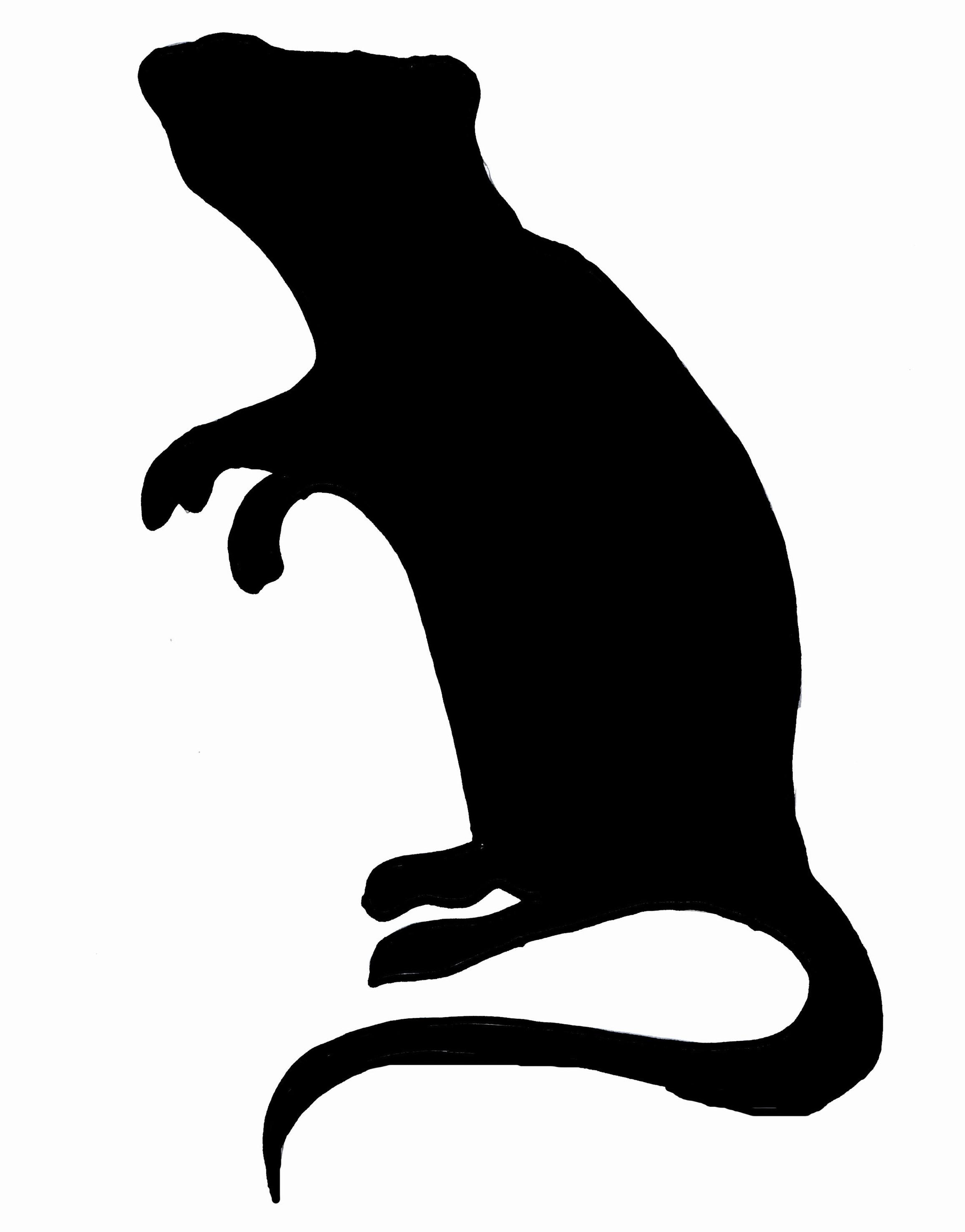 Clip Art Rat 2.