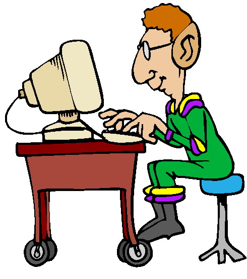 Free Person On Computer Clipart, Download Free Clip Art.