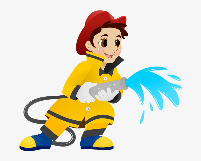 Fire Clipart Person.