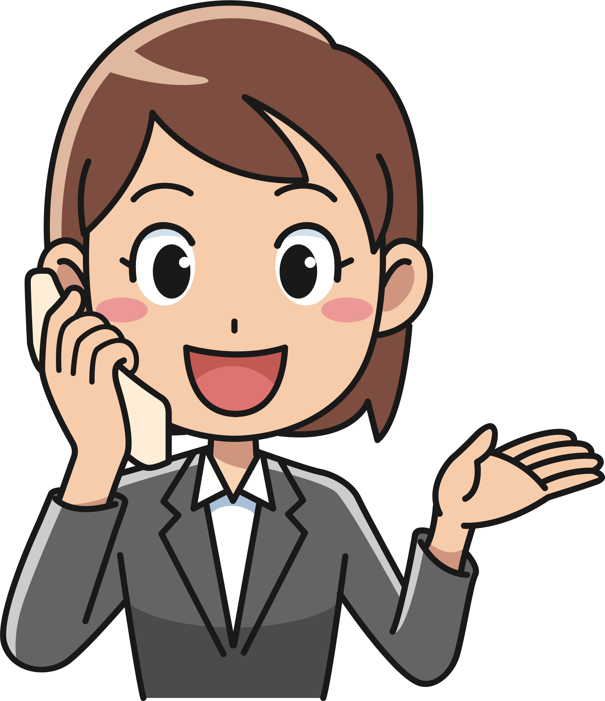 Phone clipart person, Phone person Transparent FREE for.