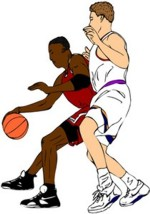 Basketball Player Clipart.