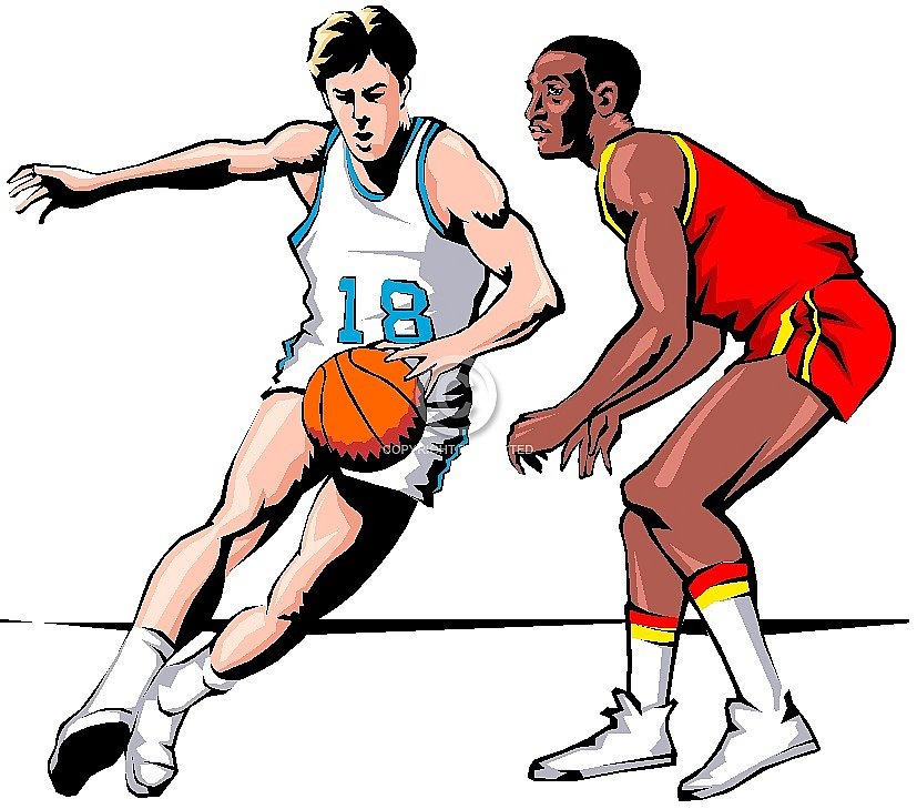 Kids playing basketball clipart clipart kids weloring page.