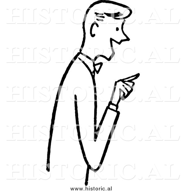 Gallery For > Person Pointing Finger Clipart.