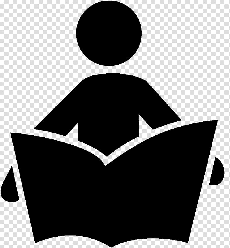 Person opening book , Reading Computer Icons Symbol Library.
