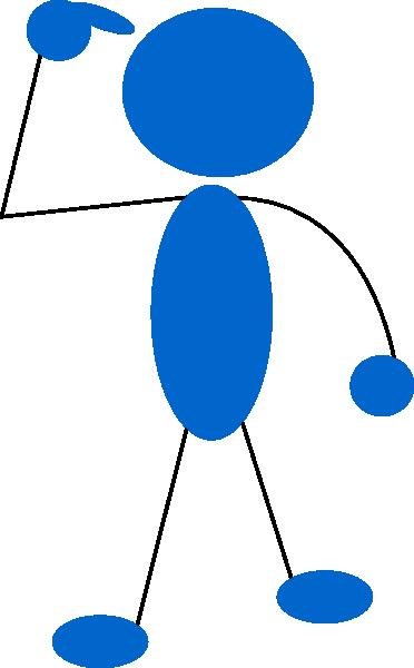 Blueman Thinking Clip Art at Clker.com.