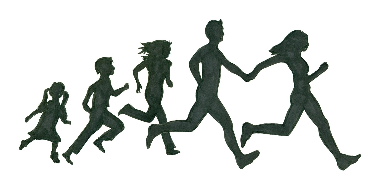 person running away silhouette clipart 20 free Cliparts ...