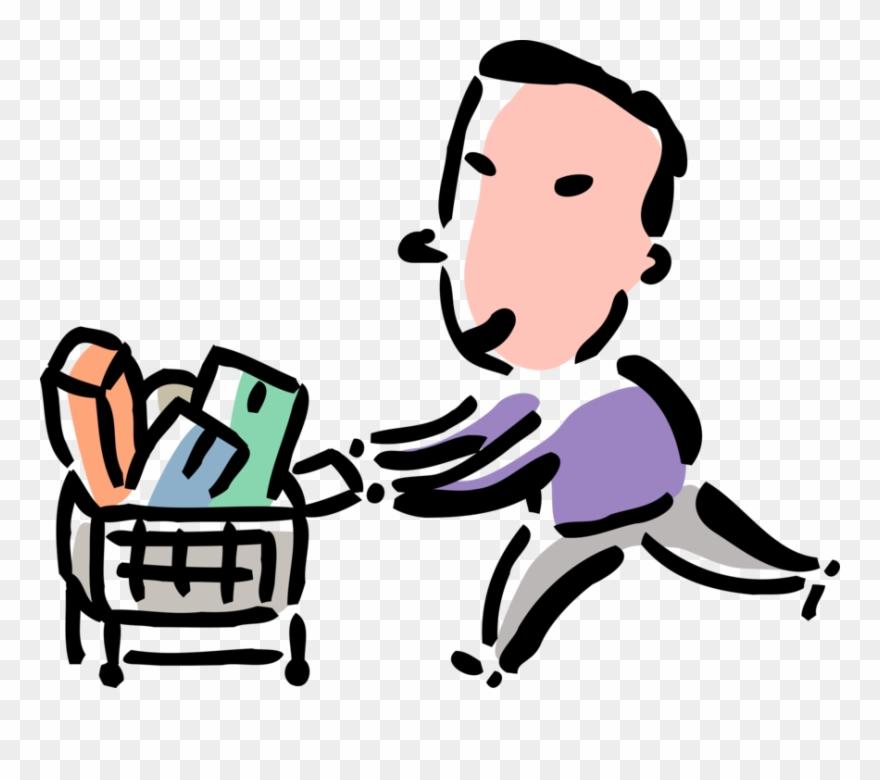 Buy Vector Person Shopping.