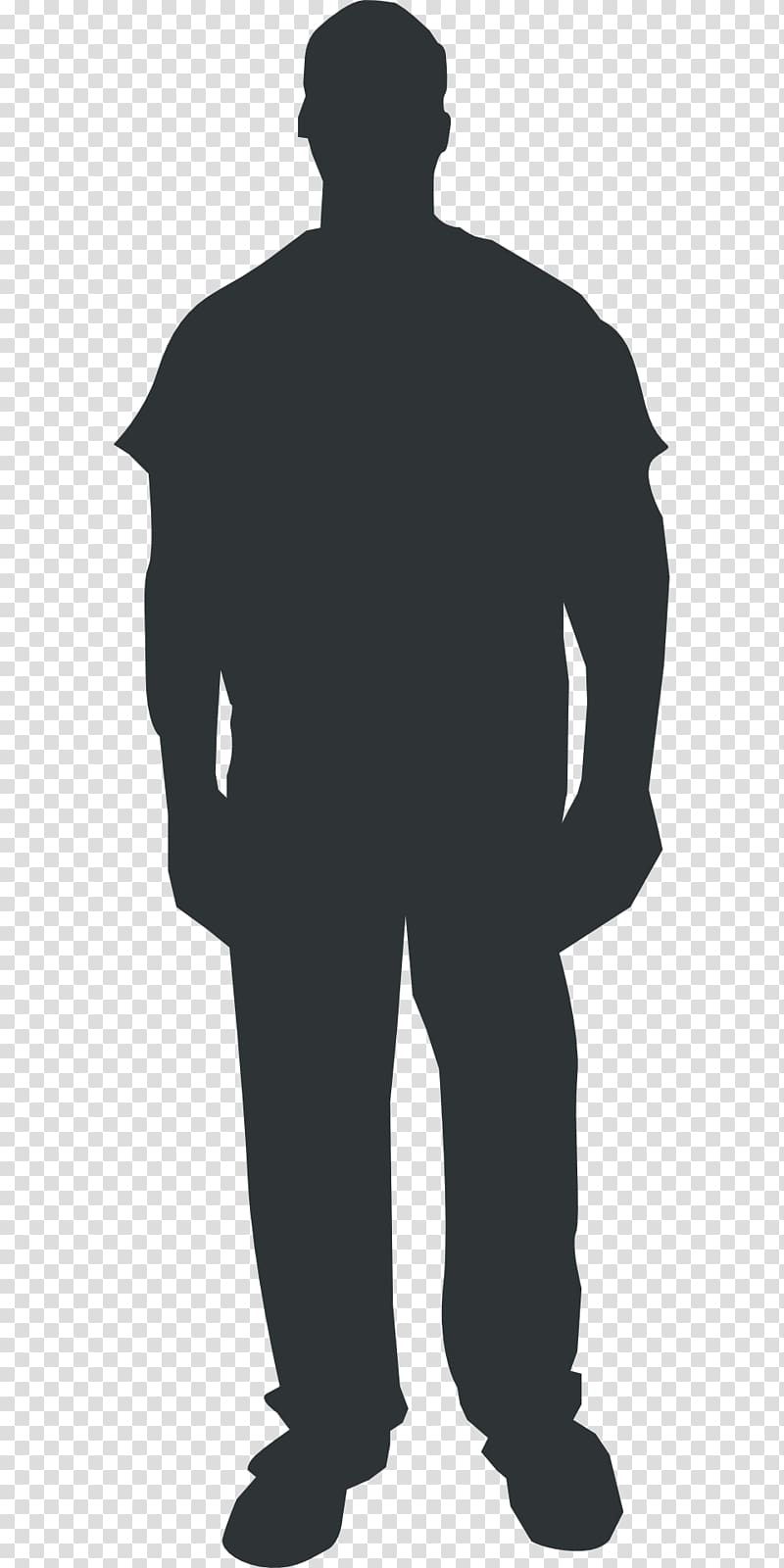 Homo sapiens Person , silhouette man transparent background.