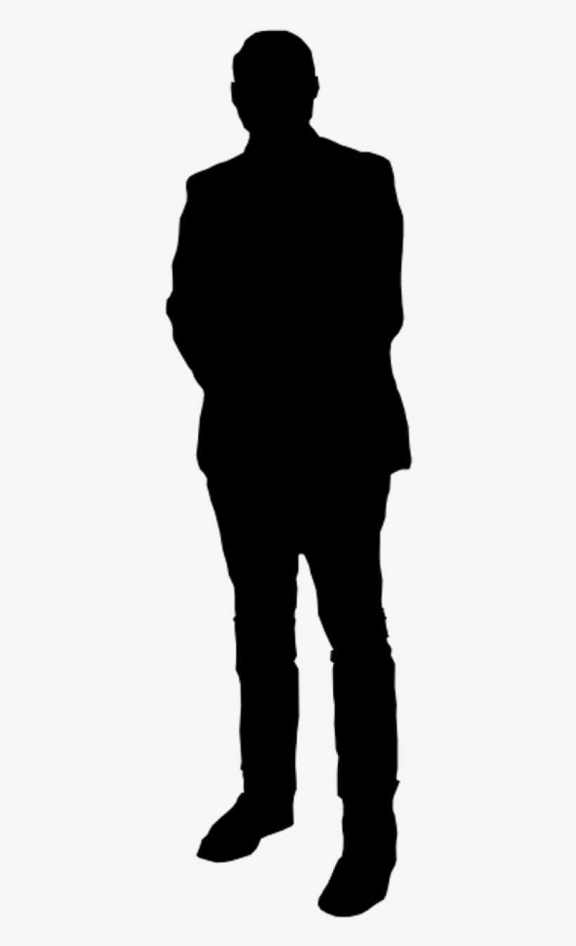 Download Free png Free Png Man Standing Silhouette Png.
