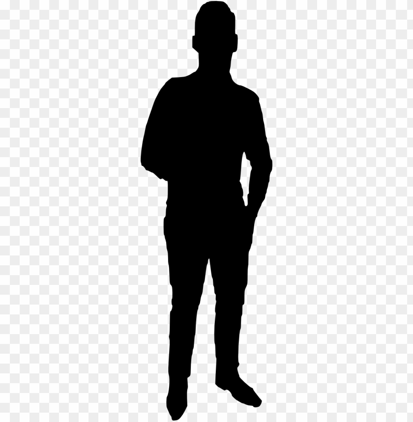 man silhouette png.
