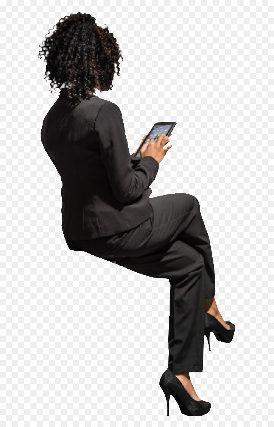 Download Free png person sitting back png.