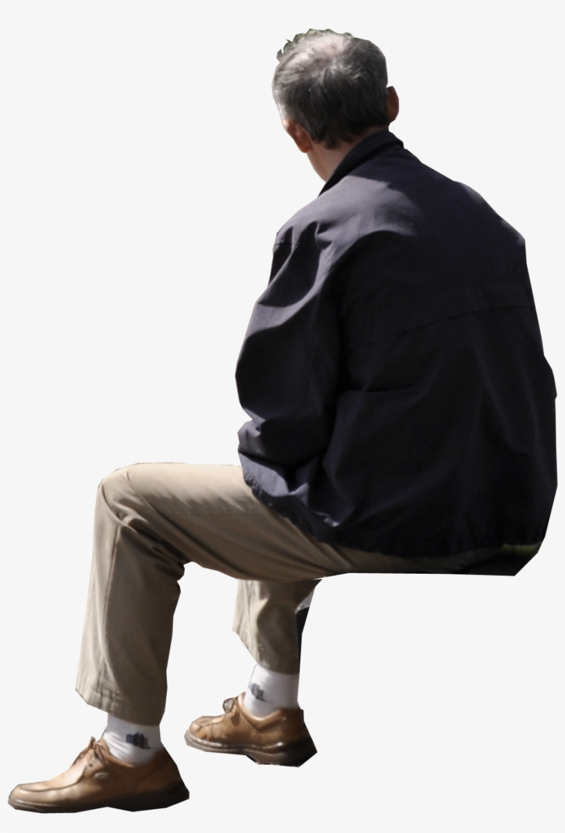 Person Sitting Back Png & Free Person Sitting Back.png.