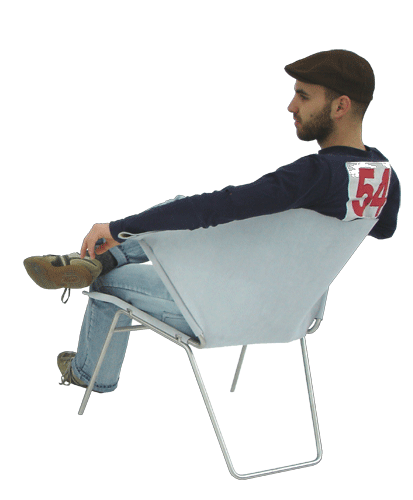 Person sitting in chair back view png 1 » PNG Image.
