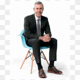 Free Person Sitting In Chair Back View PNG Images.