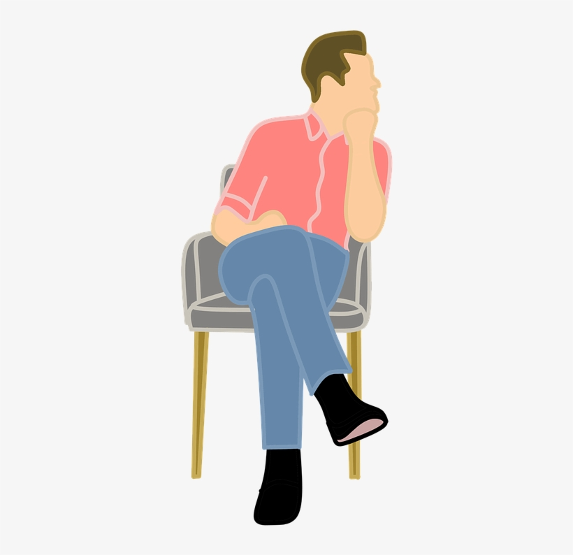 Man Thinking Clipart Png.