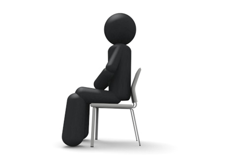6077 Chair free clipart.