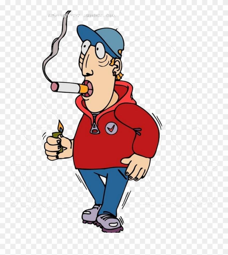 Smoking Cessation Man.