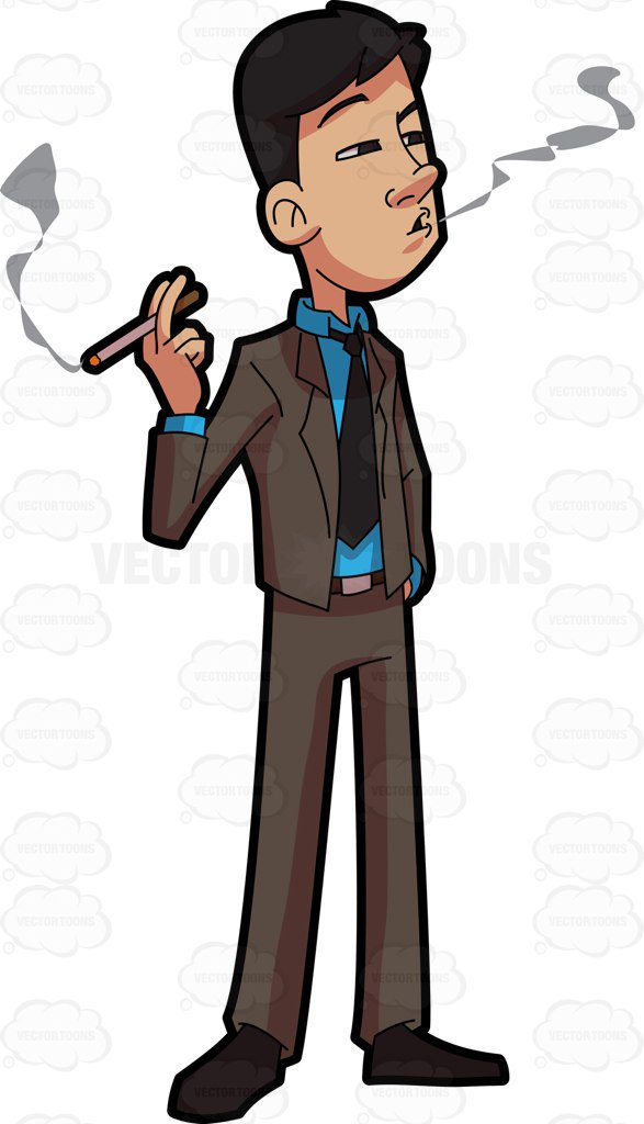 People smoking clipart 3 » Clipart Station.