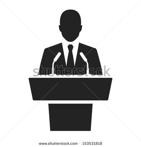 Public Speaking Stock Images, Royalty.