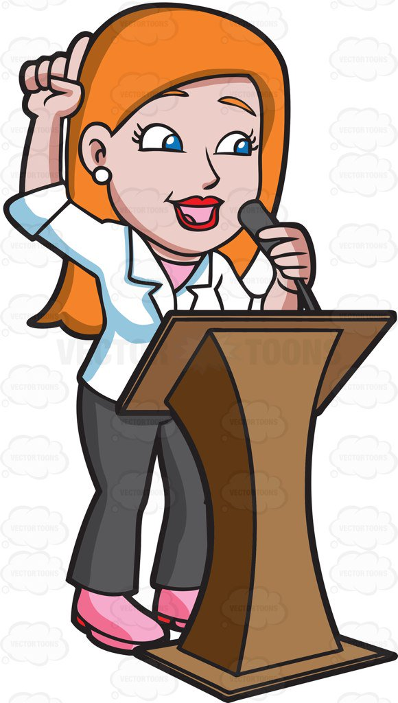 Person speaking clipart 4 » Clipart Station.