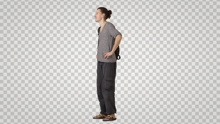 Png Standing Man Side View & Free Standing Man Side View.png.