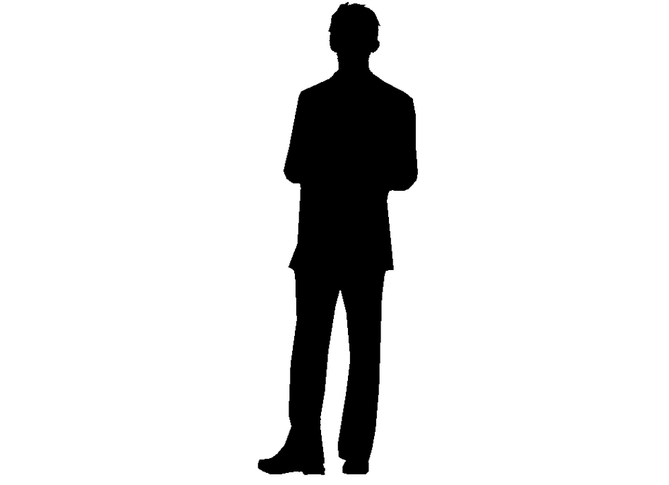 Free People Standing Silhouette Png, Download Free Clip Art.