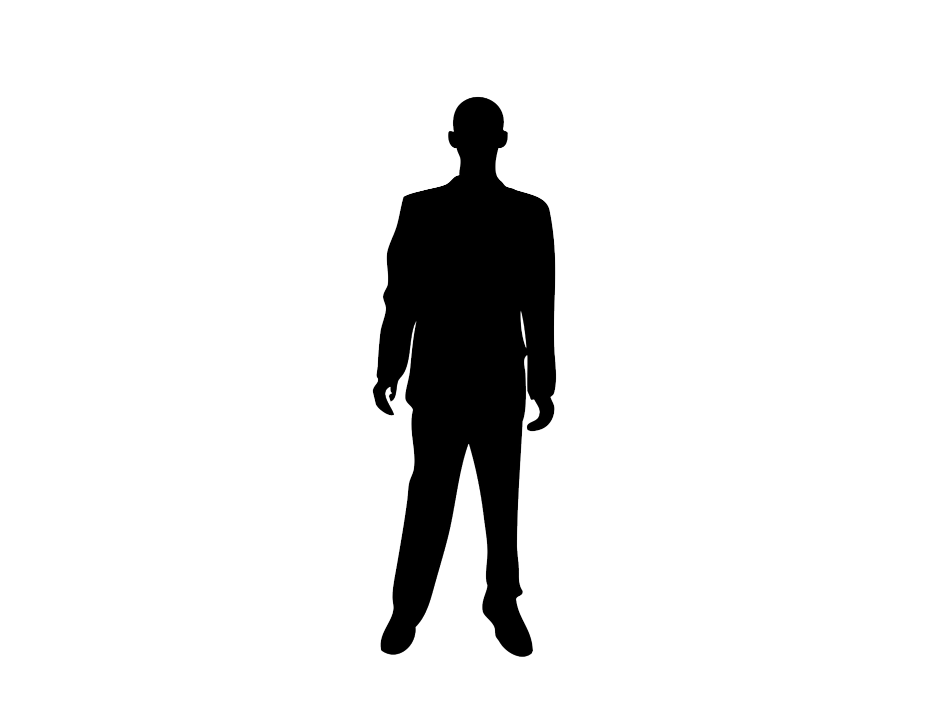 Silhouette Person Royalty.