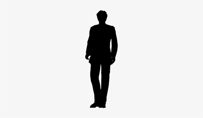 Person Standing Silhouette PNG Images.