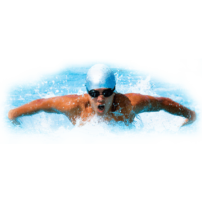 Swimming Front Color transparent PNG.