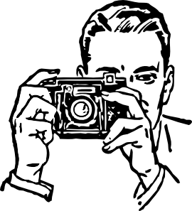 Man With A Camera Clip Art at Clker.com.